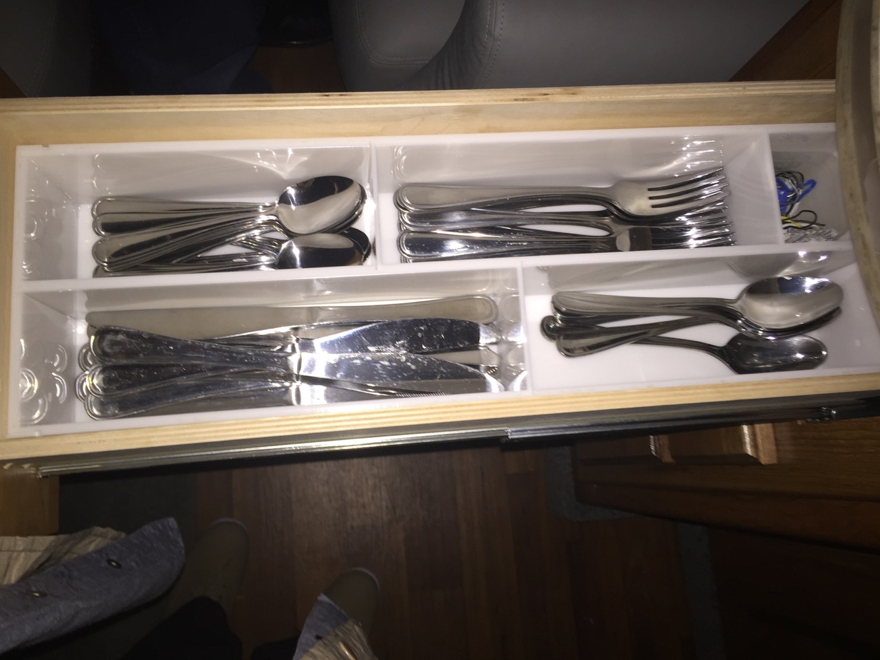 RV kitchen drawer