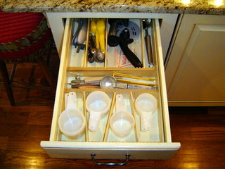 maximize space with custom drawer organizer